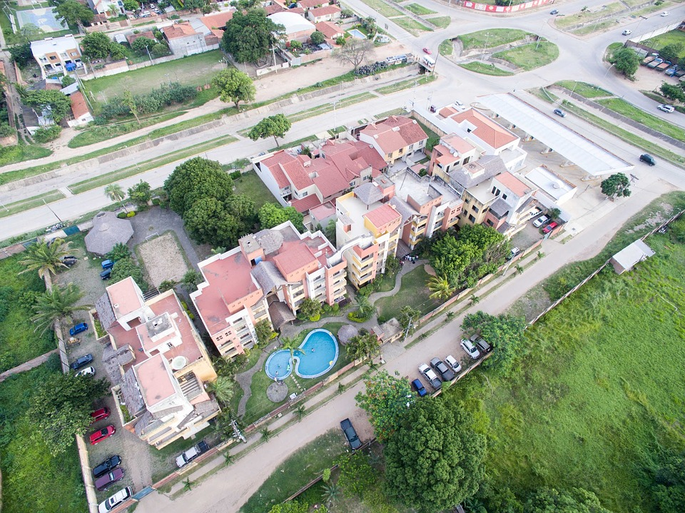 Imagen aérea inmobiliaria